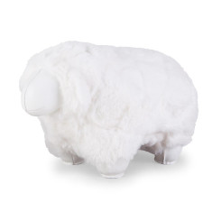 Zuny bookend sheep white