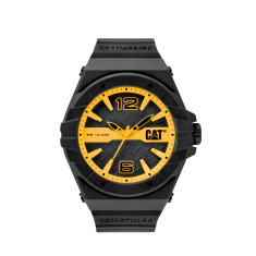 CAT Spirit series watch in yellow & black