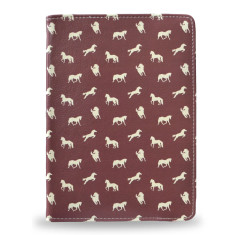 Brown Horse Print iPad Tablet Folio Case