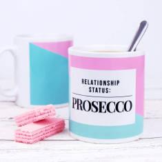 Relationship Status Prosecco Mug