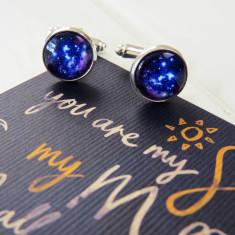 Galaxy cufflinks