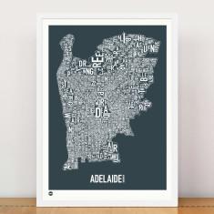 Adelaide type print