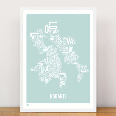 Hobart type print