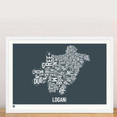 Logan type print