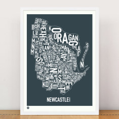 Newcastle type print