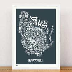 Newcastle type print