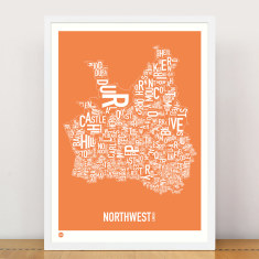 North west sydney type print