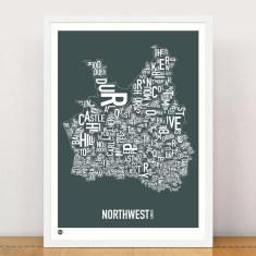North west sydney type print