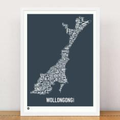 Wollongong type print