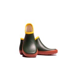 Garden pine green rubber wellies