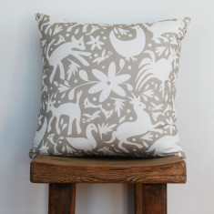 Boheme garden party cushion