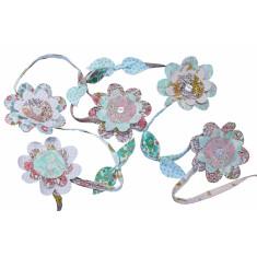 Liberty print floral garland