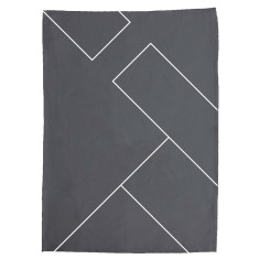 Flux Tea towel in Peripheral Print