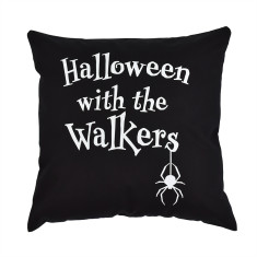 Halloween With The… Personalised Cushion