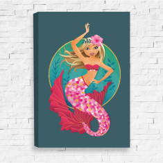 Majestic Mermaid Canvas