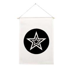Stars handmade wall banner