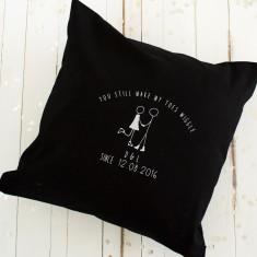 Toe Wiggle Anniversary Cushion