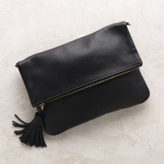 Oversized Clutch In Black