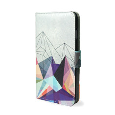 Colourflash Geometric Smartphone Wallet Phone Case