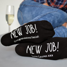 New Job Personalised Socks