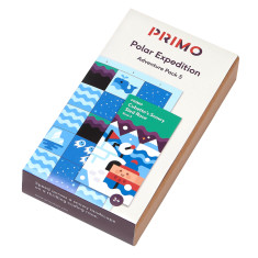 Primo Toys Adventure Pack Map & Story Book - Polar Expedition