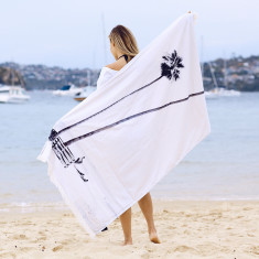 San Clemente Large Turkish Beach Towel