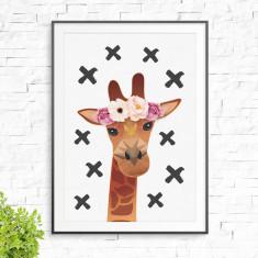 Miss Giraffe Print