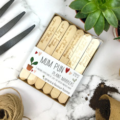 Personalised Mum plant markers
