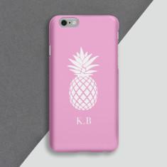 Singular Pink Pineapple Phone Case