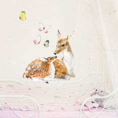 Deer and Fawn Wall Stickers