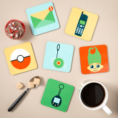 Est. 1990's Coasters (Set of 6)