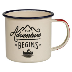 Gents Hardware enamel mug