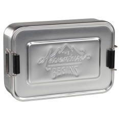 Gents Hardware metal lunch tin