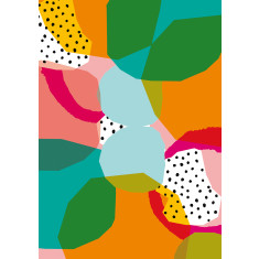 Geometric shapes no 1 print
