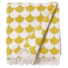 Brita Sweden gerda blanket (available in yellow or apple green)