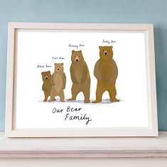 Our Bear Family Portrait