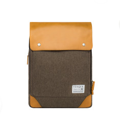 Venque - Flat Mini Brown Backpack