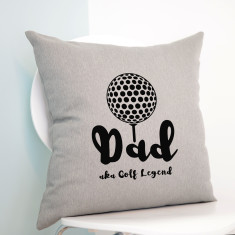 Personalised Golf Cushion