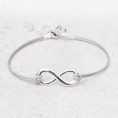 Luanna Infinity Initial Bracelet