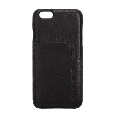 Hunter and Fox leather iPhone case in black