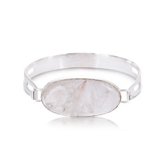 Simply the Stone Bangle