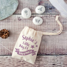 Little Bag Of Happiness Keepsake Pebble Kit