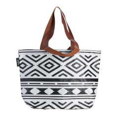 Shopper Tote in Tribal print
