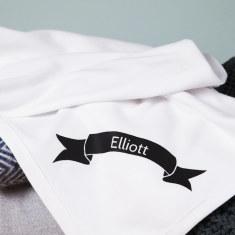 Personalised New Baby Blanket