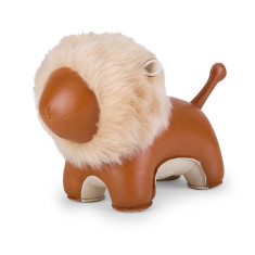 Zuny bookend lion puno tan