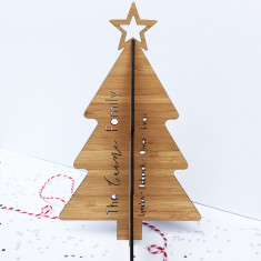 Personalised 3D Christmas Tree