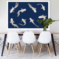 Fish Love | Canvas Art
