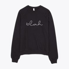Blah sweatshirt jumper