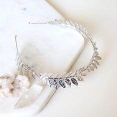Celestial headband in silver
