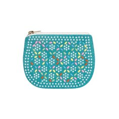 Mini play purse in turquoise